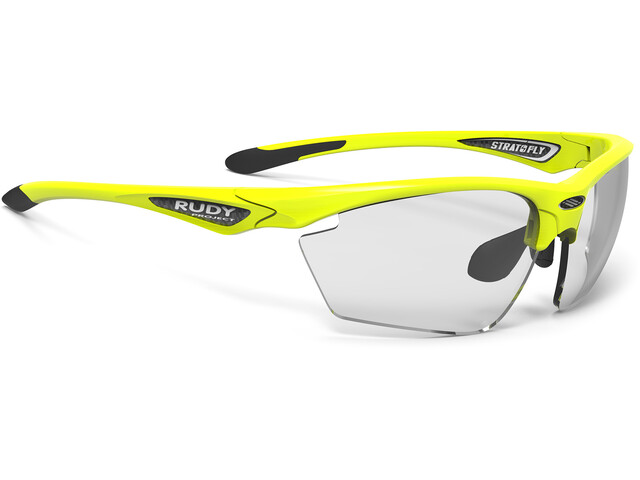 Rudy Project Stratofly Lunettes, yellow fluo gloss - impactx photochromic 2 black